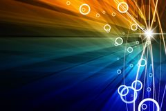 Abstract light. Abstract background - bright colorful light Stock Photo