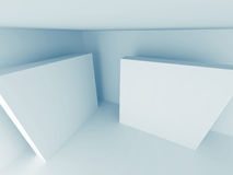 Abstract Light Architecture Design Background. 3d Render Illustration stock illustration