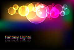 Abstract light background. Brilliant vector abstract lights background Royalty Free Stock Image
