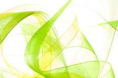 Abstract light background. Abstract green yellow light background Stock Image