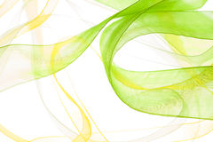 Abstract light background. Abstract green yellow light background Stock Photography