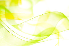 Abstract light background. Abstract green yellow light background Stock Photos