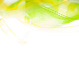 Abstract light background. Abstract green yellow light background Royalty Free Stock Photo