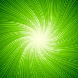 Abstract light background. Abstract black background with green spotlight Royalty Free Stock Images