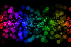 Abstract light background with bokeh Royalty Free Stock Images