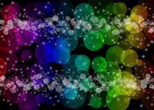 Abstract light background with bokeh Royalty Free Stock Photos