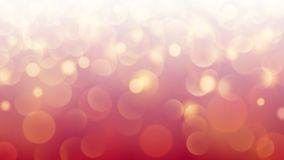 Abstract bokeh background. Abstract light background with bokeh effects in red colors Royalty Free Illustration
