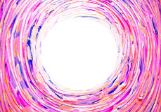 Abstract light background. Concentric, spiral, twisting, rotating brush strokes lines with space for your text. Royalty Free Stock Photo