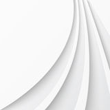 Abstract light background with curved lines Royalty Free Stock Photos