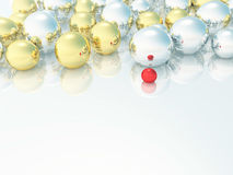 Abstract light background with gold, silvery and o Stock Photo