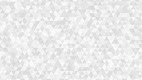 Abstract background of small triangles. Abstract light background of small triangles in white and gray colors Stock Image