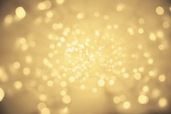 Abstract Light Background, Vanishing Point Lighting Perspective Royalty Free Stock Photo