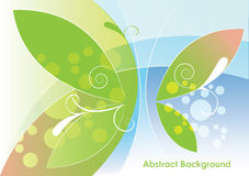 Abstract light background, vector illustration Stock Image
