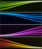 Abstract light background. Abstract background wiht color spotlight Stock Photography