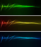 Abstract light background. Abstract background wiht color spotlight Royalty Free Stock Images