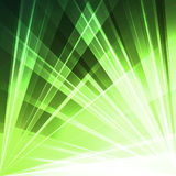 Abstract light background. Abstract background wiht  green  light Stock Photography