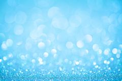 Abstract light backgrounds. Blue bokeh abstract light backgrounds. studio shot Stock Photos