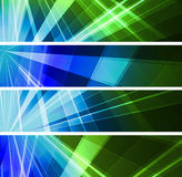 Abstract light banner. Abstract banner wiht  color light Royalty Free Stock Photography