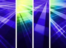 Abstract light banner. Abstract banner wiht  color light Royalty Free Stock Photos