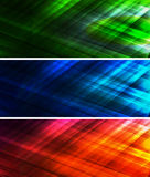 Abstract light banner. Abstract banner wiht  color light Stock Image