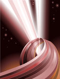 Abstract light beams backgroun Royalty Free Stock Photo