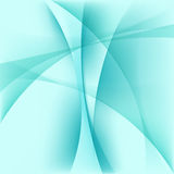 Abstract light blue background. Curve smooth shapes, vector illustration Royalty Free Stock Images