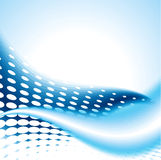 Abstract light blue background with dots. Abstract light blue background, illustration Royalty Free Stock Photos