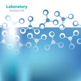 Abstract light blue background. Abstract light blue medical laboratory background Royalty Free Stock Photos