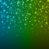 Abstract Light Blue Green Bokeh Background Vector Illustration. Stock Images