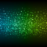 Abstract Light Blue Green Bokeh Background Vector Illustration. Royalty Free Stock Photography