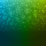 Abstract Light Blue Green Bokeh Background Vector Illustration. Royalty Free Stock Photo