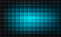 Abstract light blue patterns square shape background. Vector illustration Stock Photography