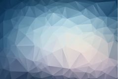 Abstract Light Blue polygonal illustration, which consist of triangles. Geometric background in Origami style with gradient. Trian. Gular design for your vector illustration
