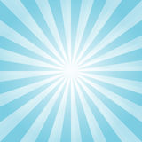 Abstract light Blue rays background. Vector EPS 10 cmyk Royalty Free Stock Photos