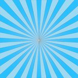 Abstract light  blue sun rays background. Vector.  Stock Photos