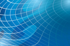 Abstract light blue warped background  - vector Stock Images