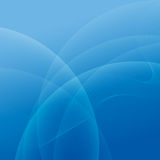 Abstract light and blue wave lines background. Vector illustration Royalty Free Stock Images