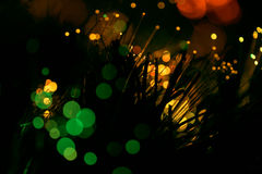 Abstract Light Blur Bokeh Background Stock Image