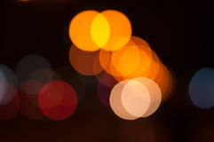Abstract light bokeh Royalty Free Stock Photography
