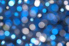 Abstract light bokeh. Blue abstract light bokeh background royalty free stock images