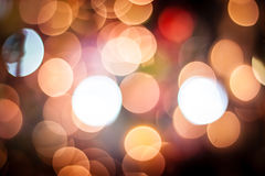 Abstract light bokeh background_09 Royalty Free Stock Photography