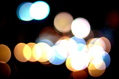 Abstract light bokeh background_04 Royalty Free Stock Photo