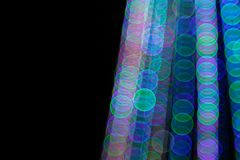 Abstract Light Bokeh Background.Blur picture of defocus light at night. royalty free stock photography