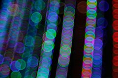 Abstract Light Bokeh Background.Blur picture of defocus light at night. Abstract night traffic bokeh background with defocused lights Stock Photography