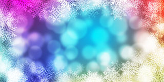 Abstract light Bokeh background Stock Image