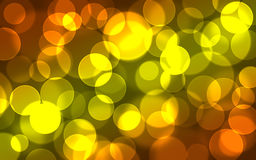 Abstract light bokeh background. Yellow orange bokeh light background Royalty Free Stock Images