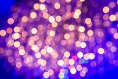 Abstract light Bokeh Royalty Free Stock Photo
