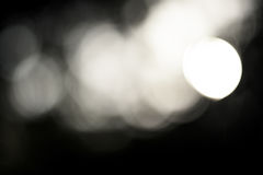Abstract light bokeh. Nature background Stock Photography