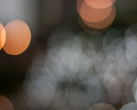 Abstract light bokeh. Orange abstract light bokeh background stock photography