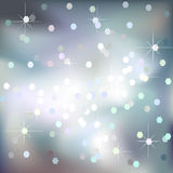 Abstract light brilliant vector background. With blur and stars Royalty Free Stock Photos